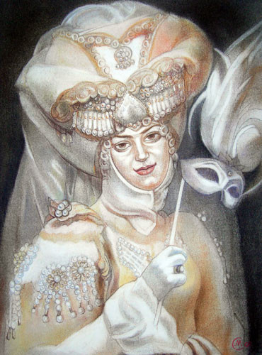 «Жемчужина Венеции» ::: Маргарита Керимова-Соколова