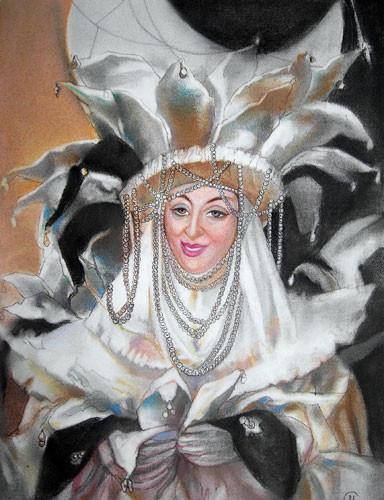 «Королева ночи» ::: Маргарита Керимова-Соколова