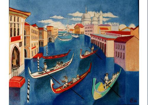 «Венеция. Большой Канон» ::: Маргарита Керимова-Соколова
