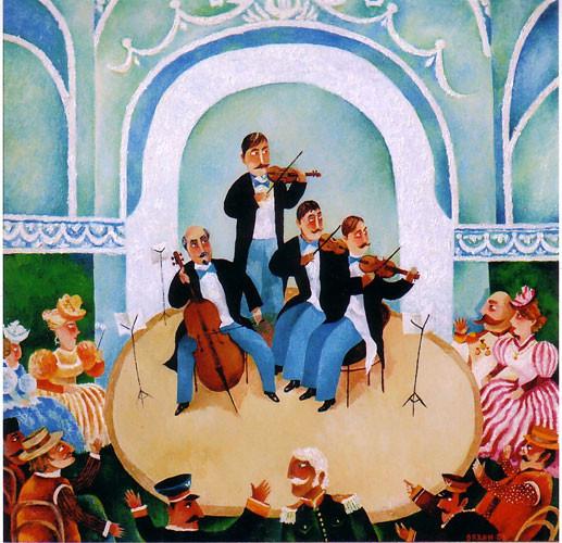 """""""Бакинская филармония"""" триптих ::: Орхан Гусейнов"""