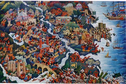 """""""Карта Азербайджана"""" ::: Орхан Гусейнов"""