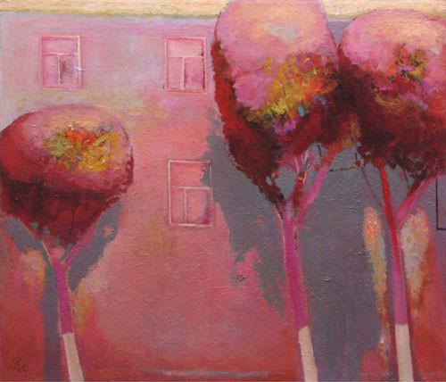 """""""Красные деревья"""" ::: Намик Мамедов"""