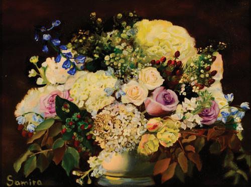 """""""Цветы 1"""" ::: Самира Джавадова"""