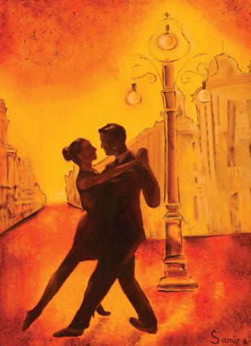 """Вечернее Танго"" ::: Самира Джавадова"
