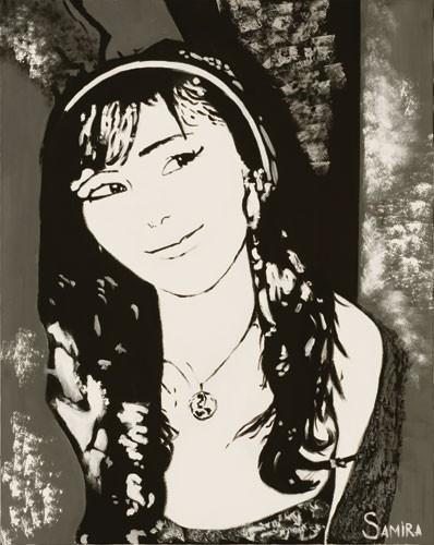 """Портрет 1"" ::: Самира Джавадова"