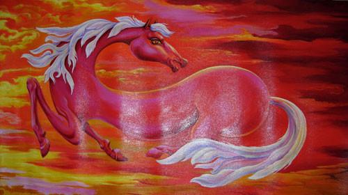 """Красный конь"" ::: Фуад Кафар"
