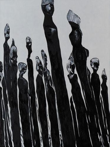 """""""Человеческое общество-образы"""" ::: Аббас Ахмедов"""
