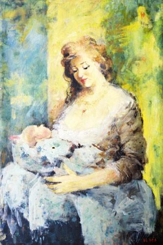 """""""Мать и дитя"""" ::: Иса Мамедов"""