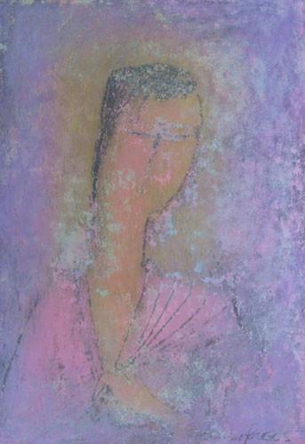 """""""Фиолетовый портрет"""" ::: Юсиф Мирза"""
