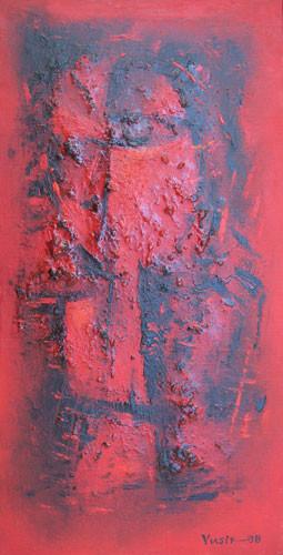 """""""Красный портрет"""" ::: Юсиф Мирза"""