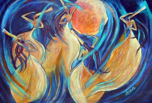 """""""Небесный танец"""" ::: Джамиля Великызы"""