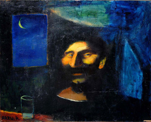 """Улыбка в ночи"" ::: Арзу Рзаев"