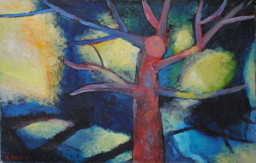 """""""Дерево"""" ::: Арзу Рзаев"""