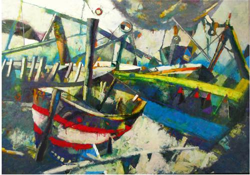 """""""Заброшенные лодки"""" ::: Явер Султанов"""