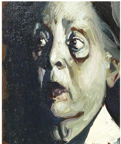 """""""Портрет пожилой женщины"""" ::: Явер Султанов"""