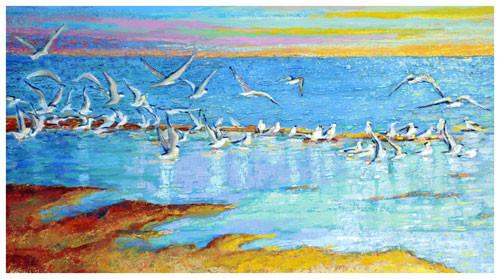 """""""От моря в небо"""" ::: Интигам Агаев"""