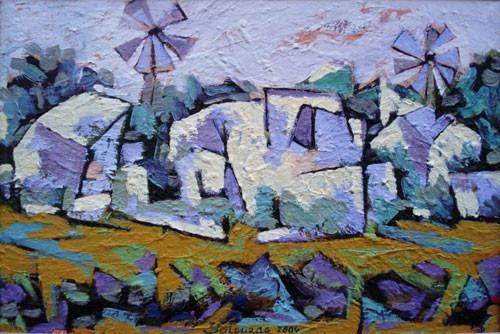 Абшеронское село – 2006 ::: Фархад Ялгузаг