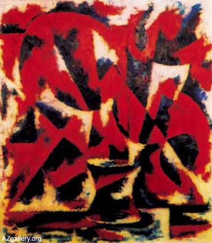 Цвет мака – 2000 ::: Фархад Ялгузаг