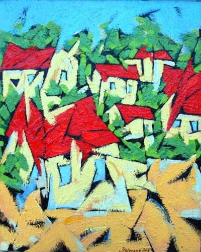 Красные крыши – 2001 ::: Фархад Ялгузаг