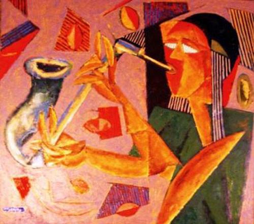 Саксофонист – 2008 ::: Фархад Ялгузаг