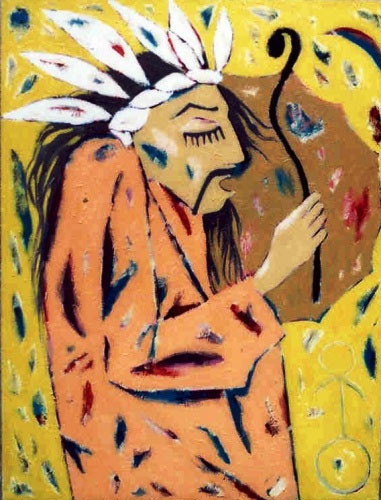 Шаман в трансе – 2002 ::: Фархад Ялгузаг