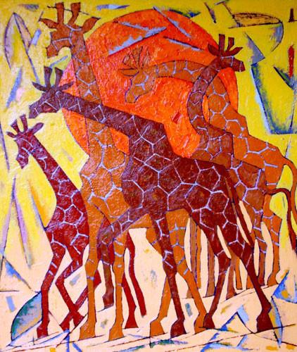 Жирафы – 2005 ::: Фархад Ялгузаг