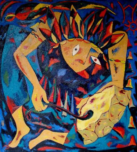 Танец шамана – 2004 ::: Фархад Ялгузаг