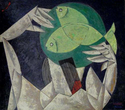 Рыбы – 2012 ::: Фархад Ялгузаг