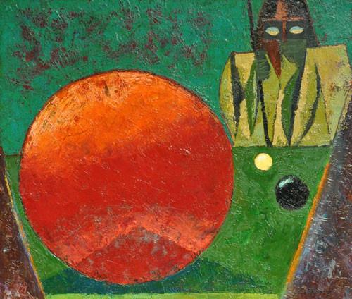 «Последний красный шар» ::: Фархад Ялгузаг