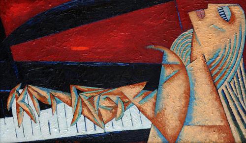 """""""Пианист"""" ::: Фархад Ялгузаг"""
