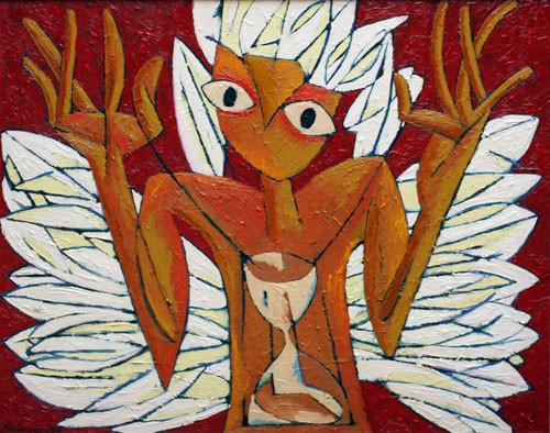 """Дервиш с крыльями"""" ::: Фархад Ялгузаг"""