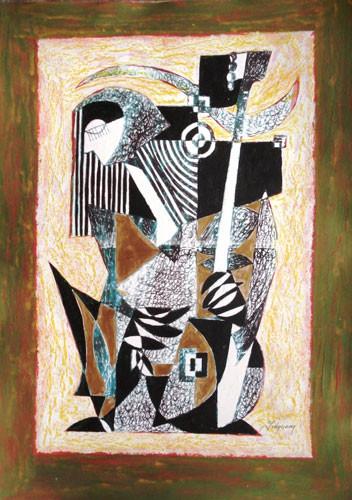 Африканский музыкант  – 2009 ::: Фархад Ялгузаг