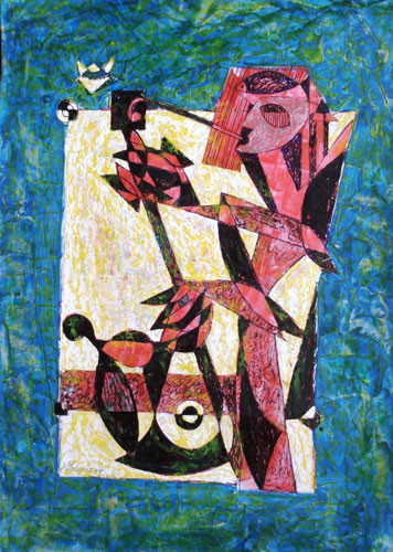 Саксофонист - 2009 ::: Фархад Ялгузаг