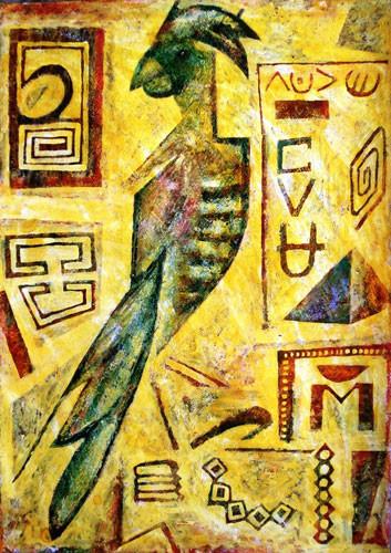 Попугай - 2010 ::: Фархад Ялгузаг