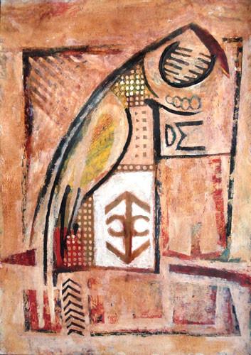 Попугай и символ - 2010 ::: Фархад Ялгузаг