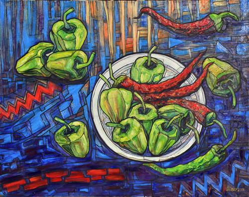 """""""Peppers"""" ::: Gunay Mehdizade"""