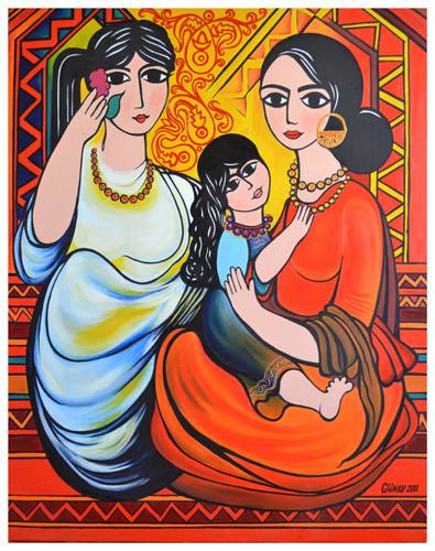 """""""Sisters"""" ::: Gunay Mehdizade"""