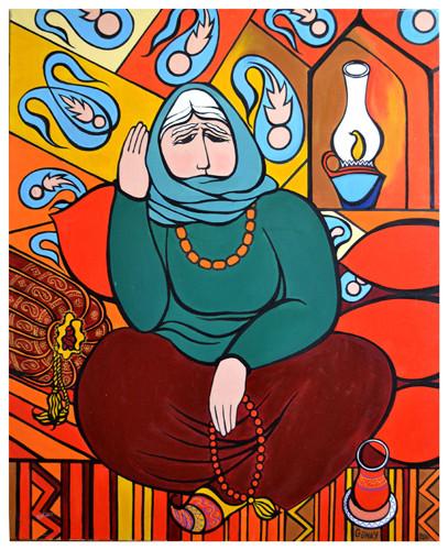 """""""Lamp"""" ::: Gunay Mehdizade"""