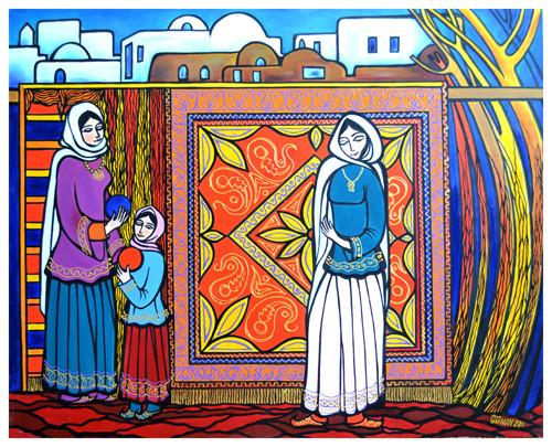 """Weavers"" ::: Gunay Mehdizade"