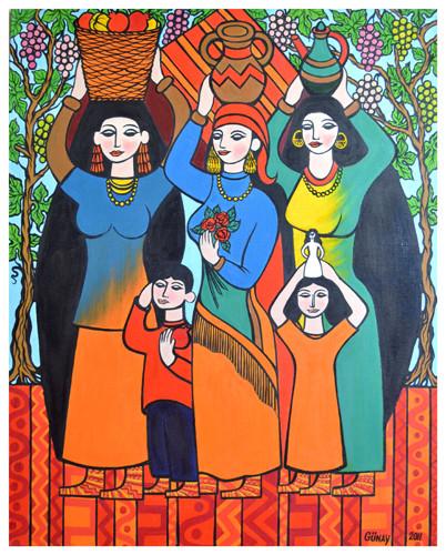 """Eastern women"" ::: Gunay Mehdizade"