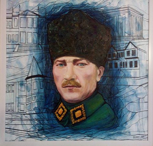 Ataturk`s portrait ::: Gunay Mehdizade
