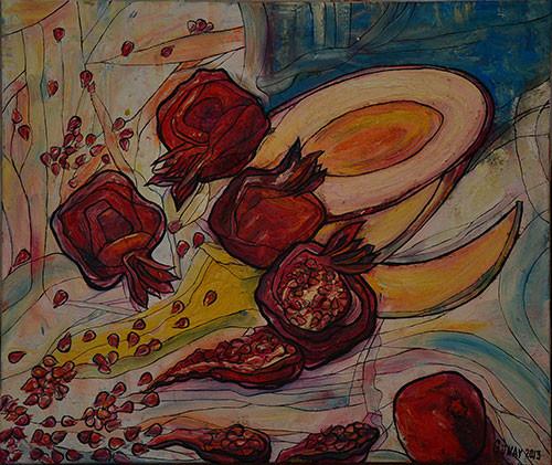 Pomegranates ::: Gunay Mehdizade
