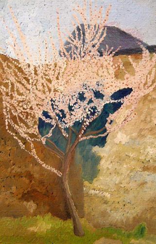 """""""Миндальное дерево весной"""" ::: Наира Рустамова"""