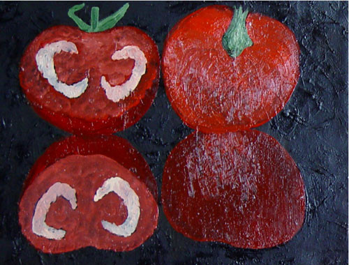 """Два помидора"" ::: Наира Рустамова"