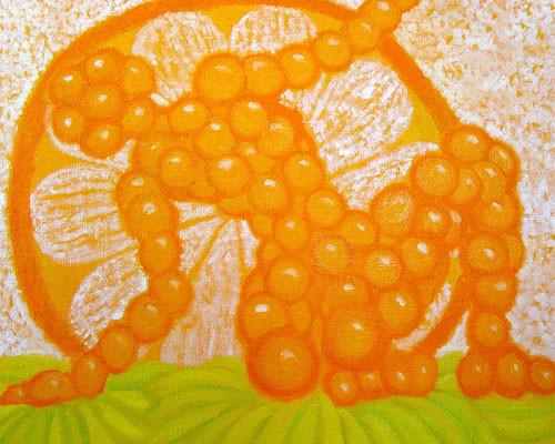 """""""Апельсиновый закат"""" ::: Наира Рустамова"""