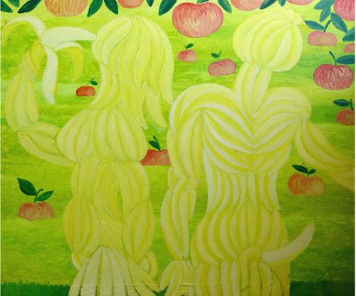 """""""Банановые Адам и Ева"""" ::: Наира Рустамова"""