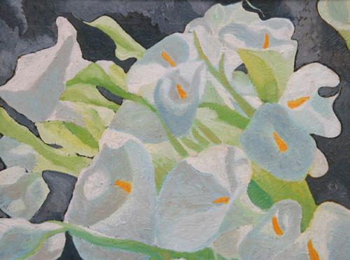 """""""Белые цветы"""" ::: Наира Рустамова"""