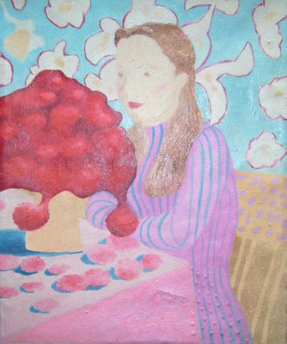 """""""Нарядное одиночество"""" ::: Наира Рустамова"""