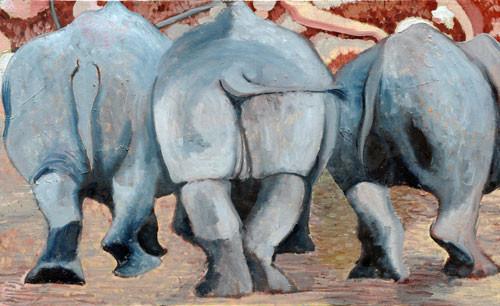 """Уходящие носороги"" ::: Наира Рустамова"