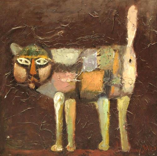 """Кошка"" ::: Тофик Газанфар"